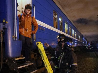 Столкновение поезда и электрички: выписаны 7 пострадавших