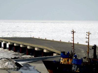 Остров Итуруп оказался в ледовой блокаде