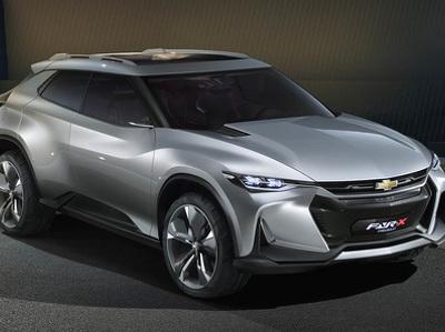 Chevrolet показала китайцам сверхадаптивный кроссовер