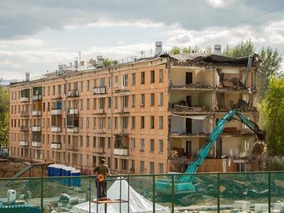 Москва потратит на снос пятиэтажек 96 миллиардов в 2017 году