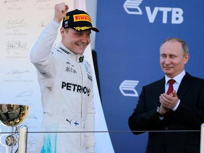 Гран-при России: Боттас первый, Квят 12-й