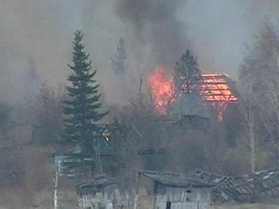 Лесные пожары: в Иркутске погода помогает пожарным
