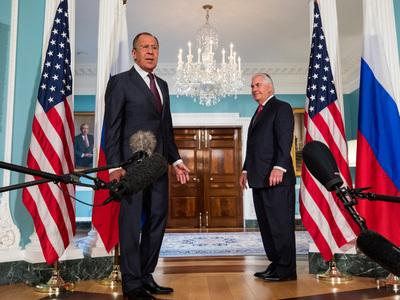 Переговоры Лаврова и Тиллерсона завершились