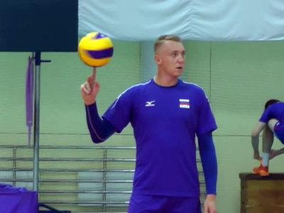 Волейболиста Спиридонова оштрафовали на 500 рублей