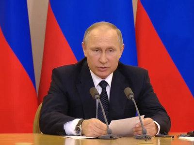 Путин рассказал о росте экономики и рекордном урожае