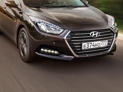 Посчитали-прослезились: решетка радиатора Hyundai i40