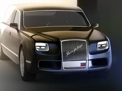 """Элитные автомобили """"Кортеж"""" будут переданы в Кремль в 2017 году"""