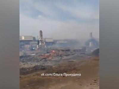 Два человека стали жертвами пожара в Канске