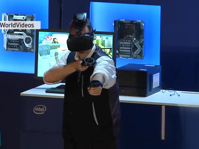 Вести.net: HTC и Intel избавили VR от проводов