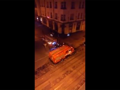Во Львове подожгли два российских банка