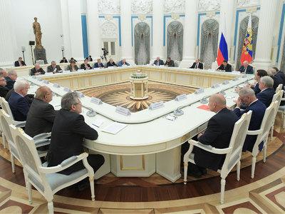Путин обсудил с академиками порядок избрания руководителя РАН