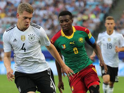 Сборная Германии победила камерунцев и заняла первое место в группе В