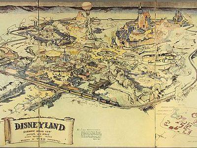 """Самую первую карту """"Диснейленда"""" продали за 700 тысяч долларов"""