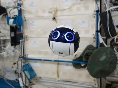 Мультяшный дрон поможет экипажу МКС проводить эксперименты