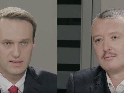Стрелков и Навальный провели дебаты
