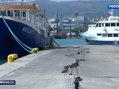 Землетрясение в Греции и Турции: общий урон составил 20-30 миллионов долларов