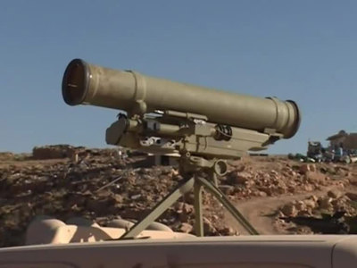 У ливанских террористов обнаружены ракеты американского производства