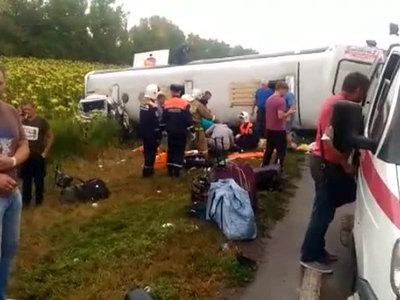 Авария в Ростовской области: 9 пассажиров из 35 продолжили поездку