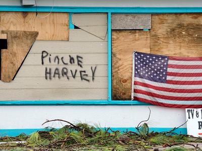 """Ураган """"Харви"""": пострадали почти 7 миллионов человек, ущерб - 40 миллиардов долларов"""