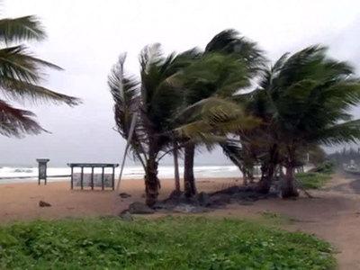 """Тропический шторм """"Катя"""" в Мексиканском заливе усилился до урагана"""