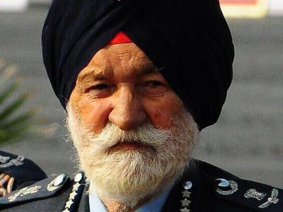 Умер 98-летний маршал ВВС Индии Арджан Сингх