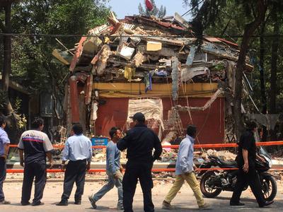 Землетрясение в Мексике: ожившие вулканы и пострадавшая столица