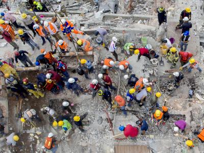 Россияне помогли деньгами пострадавшим от землетрясения мексиканцам