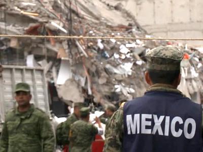 Число жертв землетрясения в Мексике выросло до 290 человек