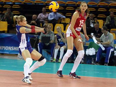 Российские волейболистки обыграли болгарок