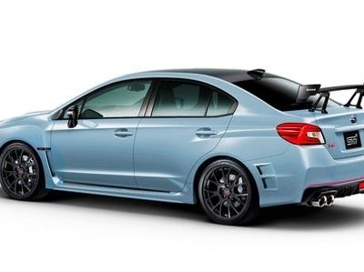 "Subaru подготовила ""заряженную"" версию WRX STI"