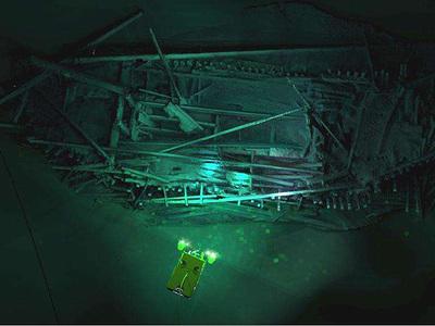 Мертвые глубины Черного моря оказались идеальным кладбищем древних кораблей