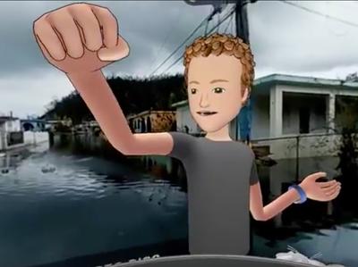 Цукербергу пришлось извиниться за виртуальную прогулку по разрушенному Пуэрто-Рико