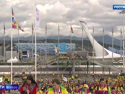 Три с половиной тысячи гостей: в Сочи открылся Фестиваль молодежи и студентов