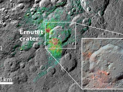 """Астрономы: органика на Церере является """"родной"""" для неё"""