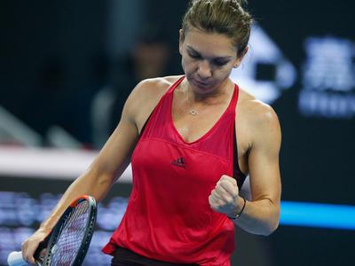 Итоговый турнир WTA. Халеп взяла реванш у Гарсия