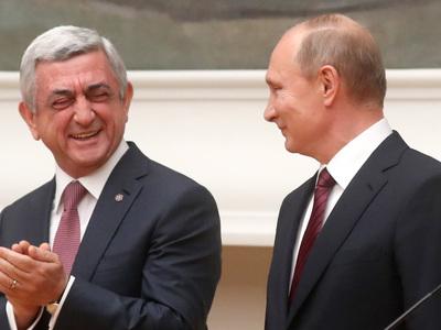 Путин передал президенту Армении похищенную картину Врубеля