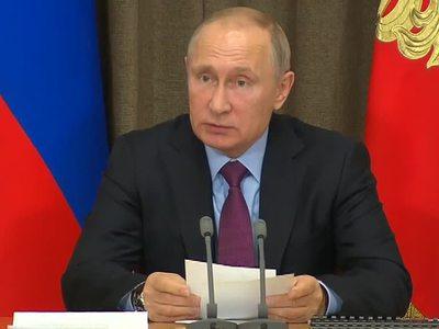 Путин поручил подготовить доклад о работе представителей ОПК в Сирии