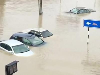 Свыше 14-ти тысяч человек пришлось эвакуировать в Малайзии из-за мощных наводнений