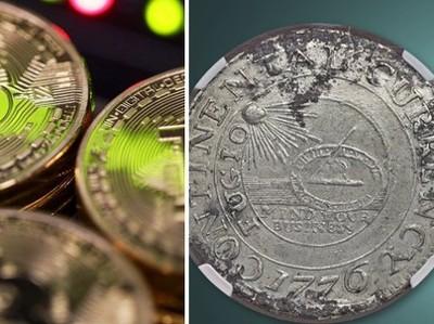 Гринспен сравнил биткоин с прежними валютами Америки