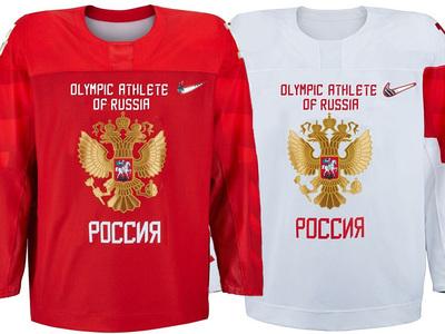 Появился вариант формы хоккейной сборной России на Олимпиаде