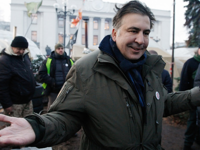 """Саакашвили пытался нелегально помыться в гостинице """"Киев"""""""