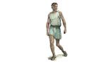 Облик Филиппа II в представлении художника – можно увидеть, что травма ноги зафиксировала конечность в постоянном полусогнутом положении