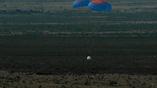 Модуль для астронавтов также успешно приземлился с помощью парашютов