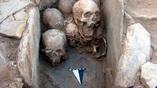 Захоронение черепов в Шкарат Мсайяд (Иордания)