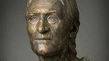 Представитель ямной культуры, 2800-3000 лет до нашей эры. Реконструкция по черепу. Автор - Алексей Нечвалода
