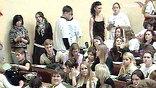 Громким скандалом чуть было не окончилось посвящение студентов первого курса в журналисты на факультете журналистики МГУ