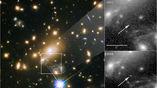 Звезду удалось различить благодаря гравитации скопления галактик.