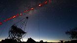 Детекторы улавливают фотоны, рождающиеся из-за столкновений гамма-квантов с атомами воздуха.