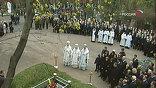 Поминальная молитва, минуты прощания, последние почести великому гражданину страны