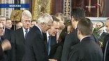 Состав приехавших в храм – это, прежде всего, отражение масштаба личности первого президента